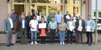 Birkenfeld: Preise für Fassadengestaltung vergeben