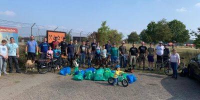 Bad Kreuznach: Mountainbiker sammeln Müll